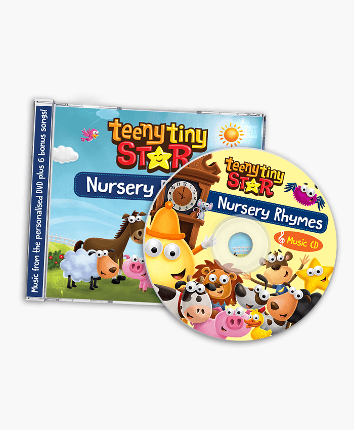 Ytinystar Nursery Rhymes Music Cd